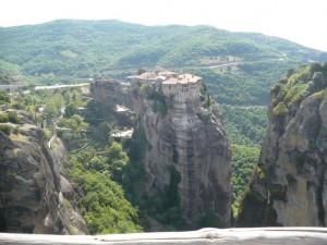 Монастыри в Метеорах